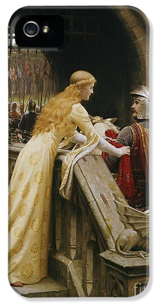 Knight iPhone 5 Case - God Speed by Edmund Blair Leighton