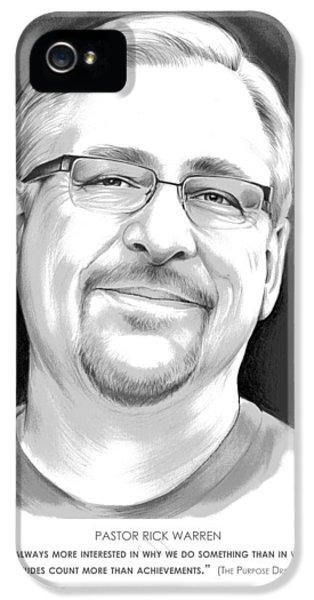 Pastor Rick Warren IPhone 5 Case