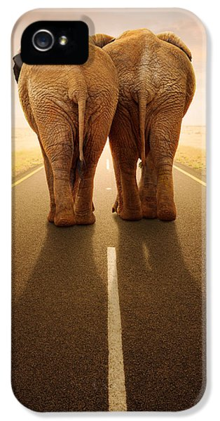 Going Away Together / Travelling By Road IPhone 5 Case