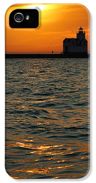 Gold On The Water IPhone 5 Case