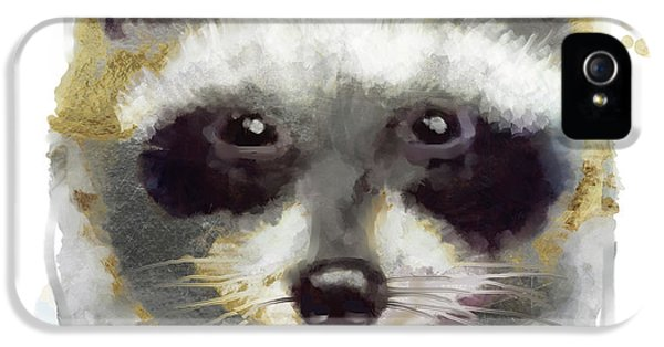 Golden Forest Raccoon  IPhone 5 Case