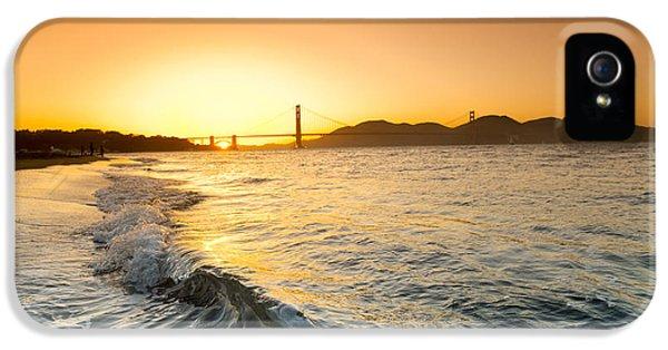Golden Gate Curl IPhone 5 Case