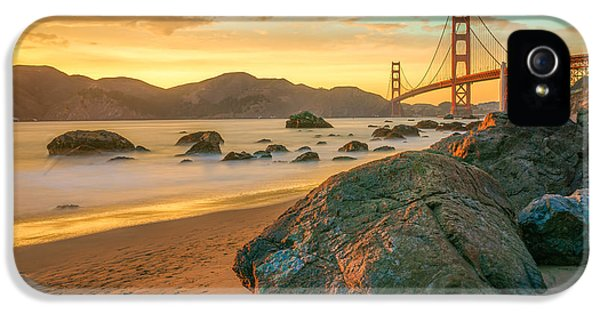 Golden Gate Sunset IPhone 5 Case