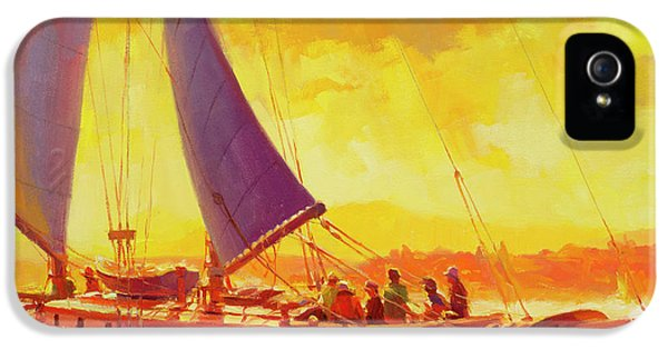 Pacific Ocean iPhone 5 Case - Golden Opportunity by Steve Henderson