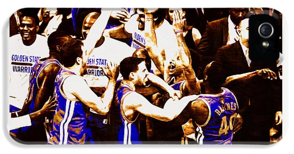 Golden State Warriors 2015 Nba Finals IPhone 5 Case by Brian Reaves