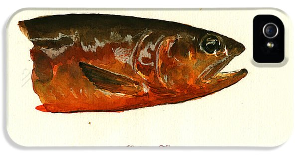 Golden Trout  IPhone 5 Case by Juan  Bosco