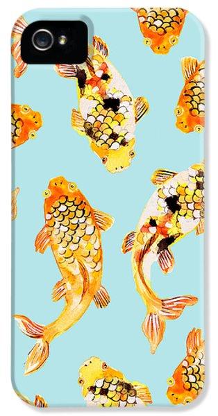 Goldfish IPhone 5 / 5s Case by Uma Gokhale
