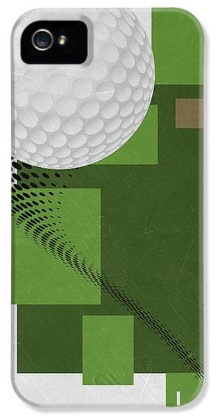 Golf Art Par 4 IPhone 5 Case