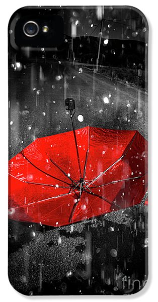 Gone With The Rain IPhone 5 Case by Jorgo Photography - Wall Art Gallery