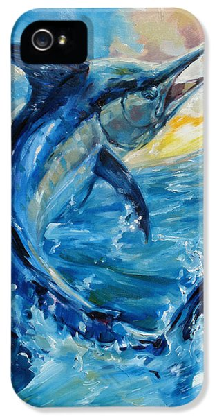 Swordfish iPhone 5 Case - Good Morning by Tom Dauria