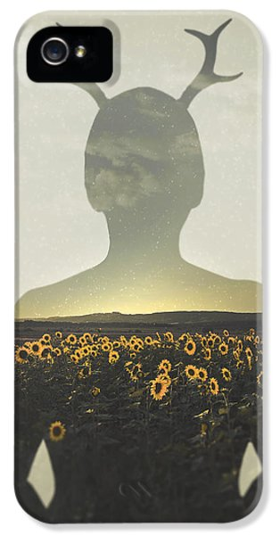 Sunflower iPhone 5 Case - Goodbye Summer by Art of Invi