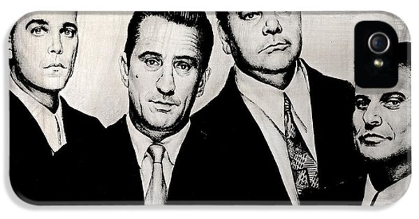 Goodfellas IPhone 5 Case by Andrew Read