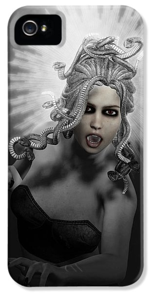 Gorgon IPhone 5 Case by Joaquin Abella