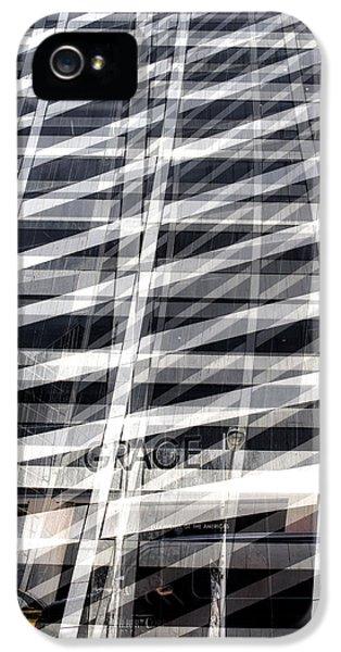 Grace Building Collage 2 IPhone 5 Case