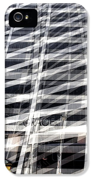 Grace Building Collage 2 IPhone 5 Case by Dave Beckerman