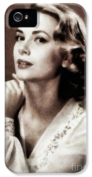 Grace Kelly, Actress, By Js IPhone 5 Case