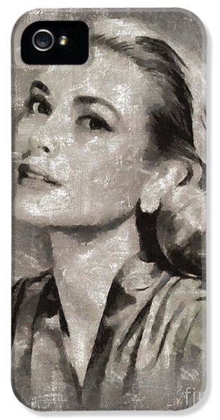 Grace Kelly By Mary Bassett IPhone 5 Case