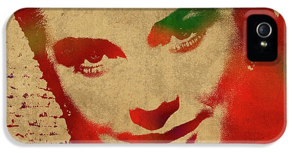 Grace Kelly Watercolor Portrait IPhone 5 / 5s Case by Design Turnpike