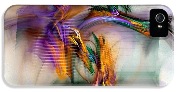 Graffiti - Fractal Art IPhone 5 Case by NirvanaBlues