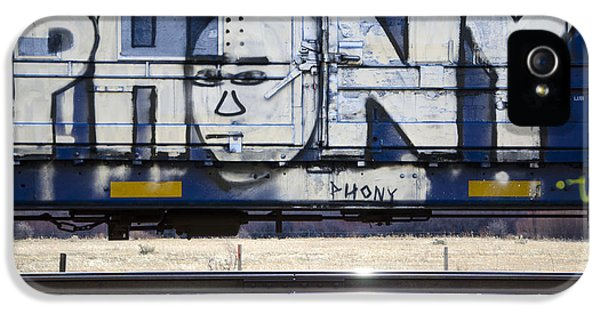 Grafitti Art Riding The Rails 4 IPhone 5 Case by Bob Christopher