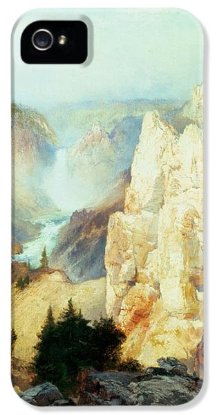 Grand Canyon Of The Yellowstone Park IPhone 5 Case by Thomas Moran