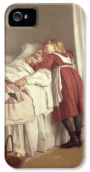 Grandfathers Little Nurse IPhone 5 Case by James Hayllar