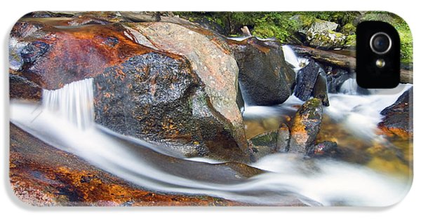 IPhone 5 Case featuring the photograph Granite Falls by Gary Lengyel