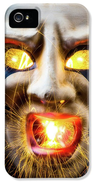 Graphic Hot Mask IPhone 5 Case