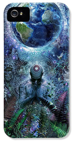 Gratitude For The Earth And Sky IPhone 5 Case by Cameron Gray