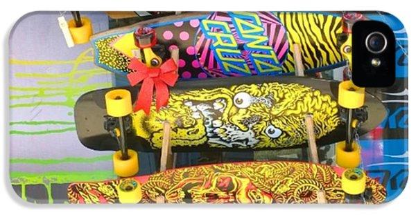 Design iPhone 5 Case - Great Art On These Skateboards! by Shari Warren