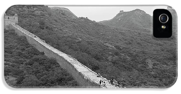 IPhone 5 Case featuring the photograph Great Wall 4, Jinshanling, 2016 by Hitendra SINKAR