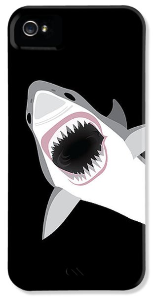 Great White Shark IPhone 5 Case by Antique Images