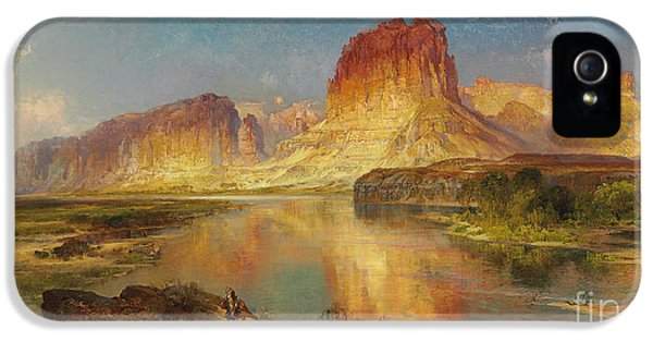 Green River Of Wyoming IPhone 5 Case by Thomas Moran