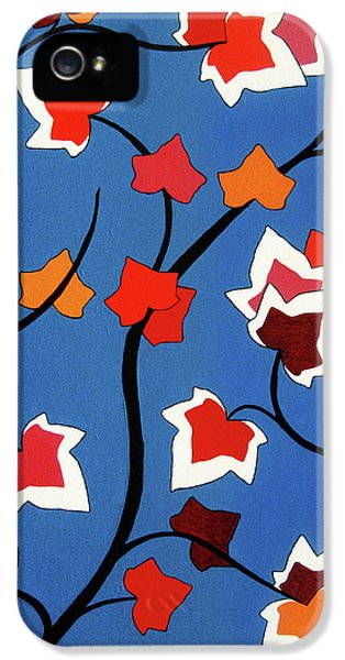 Green Shoots Of Recovery IPhone 5 Case by Oliver Johnston