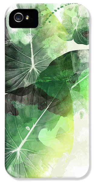Green Tropical IPhone 5 Case