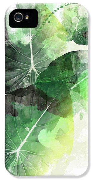 Green Tropical IPhone 5 Case by Mark Ashkenazi