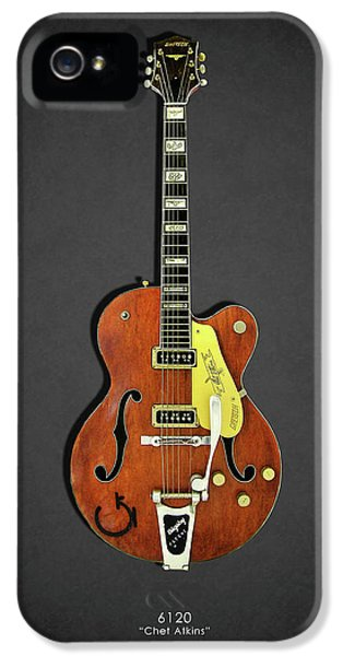 Guitar iPhone 5 Case - Gretsch 6120 1956 by Mark Rogan