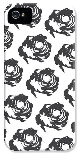 Grey Roses IPhone 5 / 5s Case by Cortney Herron
