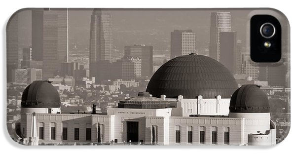 Griffith Observatory IPhone 5 / 5s Case by Adam Romanowicz