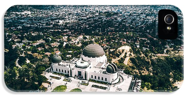 Griffith Observatory And Dtla IPhone 5 Case