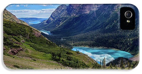 Grinell Hike In Glacier National Park IPhone 5 Case