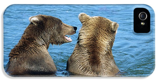 Grizzly Bear Talk IPhone 5 Case