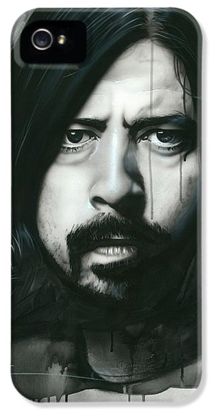 Dave Grohl - ' Grohl In Black ' IPhone 5 Case