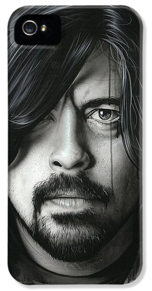 Dave Grohl - ' Grohl In Black II ' IPhone 5 Case