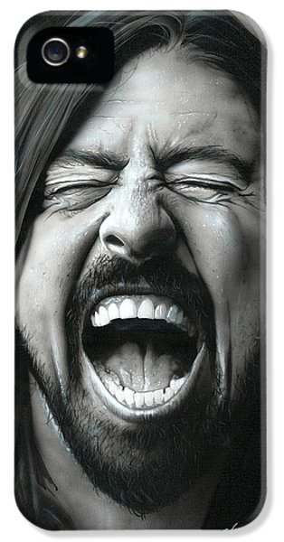 Dave Grohl - ' Grohl In Black IIi ' IPhone 5 Case