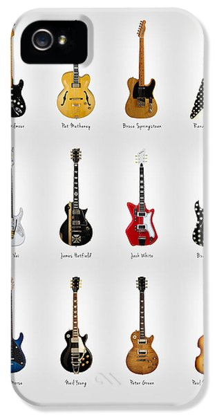 Guitar Icons No2 IPhone 5 Case by Mark Rogan
