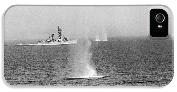 Clemson iPhone 5 Case - Gulf Of Tonkin Warfare by Underwood Archives