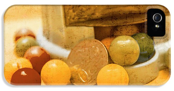 Gumballs Dispenser Antiques IPhone 5 Case by Jorgo Photography - Wall Art Gallery