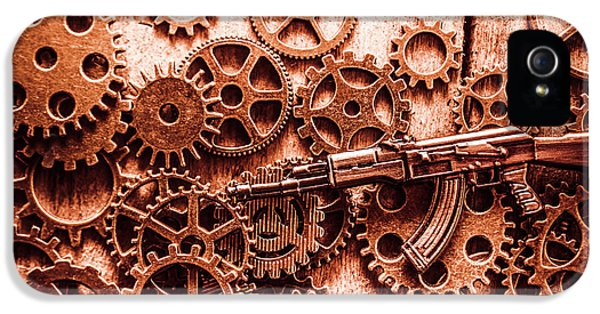 Guns Of Machine Mechanics IPhone 5 Case