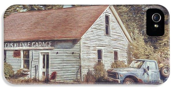 Truck iPhone 5 Case - Gus Klenke Garage by Scott Norris